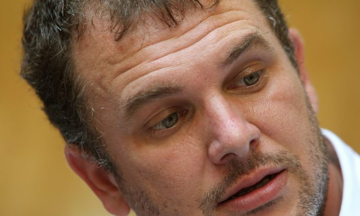 Lirio Abbate, a Italian journalist under police protection after receiving death threats from the mafia, on Sept. 18, 2007. Lirio Abbate has been under police protection after receiving death threats following the publication of his co-authored book on the associates of the Sicilian Mafia boss. (Vincenzo Pinto/AFP/Getty Images)