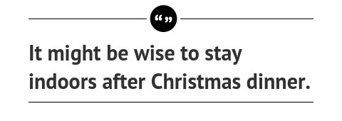 Quote: New York City Won't Get a White Christmas