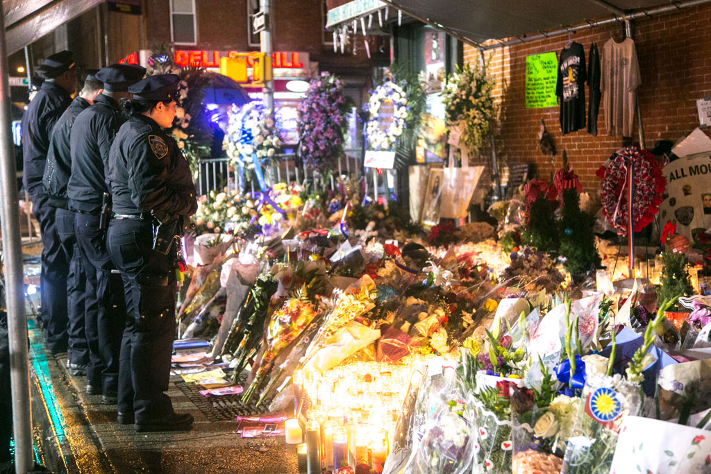 NYPD Officer Ramos' Funeral Somber and Commemorative (+Photogallery)
