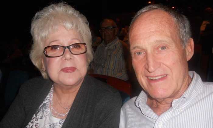 Lillian and Victor Riesterer saw Shen Yun in Ft. Lauderdale, Florida on Dec. 28. (Edie Bassen/Epoch Times)