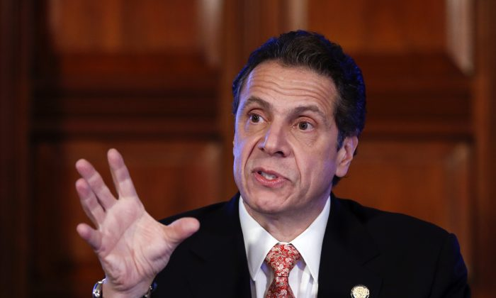 New York Gov. Andrew Cuomo on Dec. 17, 2014. Board of Regents, a New York state body governing education, responded to Governor Cuomo's oblique outline of his education priorities Wednesday. (Mike Groll/AP)