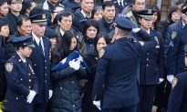 NYPD Officer Honored by Family, Praised by Comrades