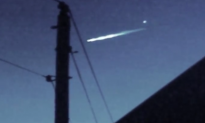UFO Sighting in California? Video Captures White Glowing Object Separating From Meteor
