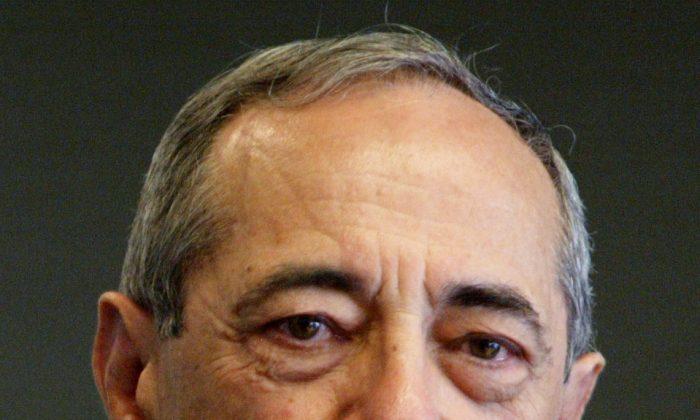 Former New York Gov. Mario Cuomo in 2004 file photo. (Mary Altaffer/AP)