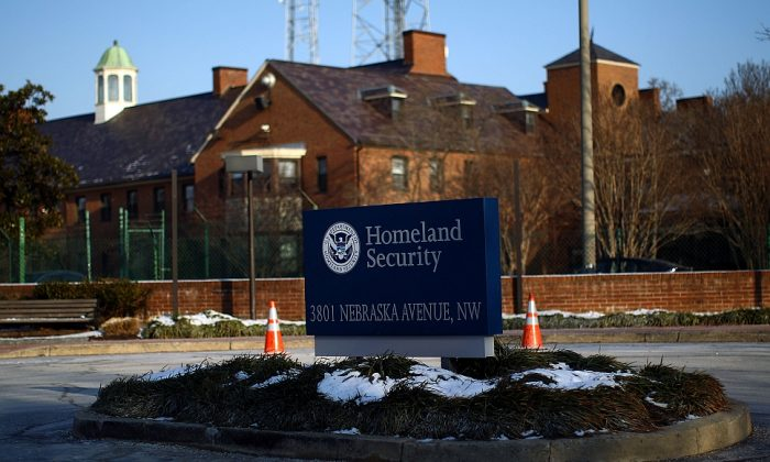 The Department of Homeland Security main complex in Washington, D.C., on Jan. 8, 2010. Outgoing Sen. Tom Coburn (R-Okla.) castigated the agency for failing to meet its major priorities in a recent report. (Win McNamee/Getty Images)