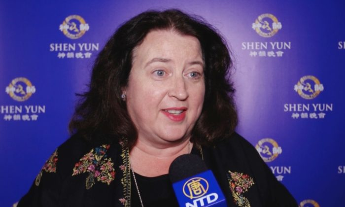 Dr. Teresa Strecker attends Shen Yun Performing Arts at the Winspear Opera House on Jan. 11, 2015. (Courtesy of NTD Television)