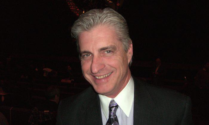 Earl Fitzsimmons at the Winspear Opera House on Jan. 10, 2015. (Rich Rangel/Epoch Times)