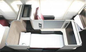 Hooray for Business Class All-Aisle Seating