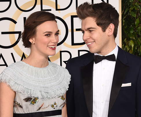 Actress Keira Knightley and her husband James Righton (Jason Merritt/Getty Images)