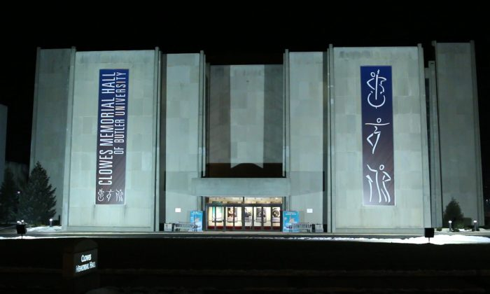 Indianapolis' Clowes Memorial Hall of Butler University. (Courtesy of NTDTelevision)