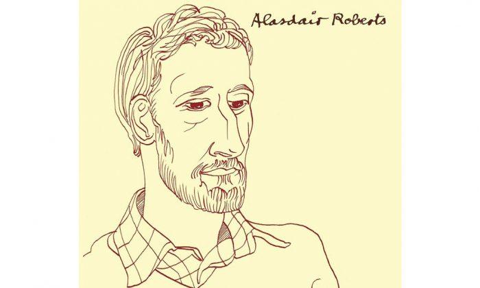 Cover of the album Alasdair Roberts. (Drag City)
