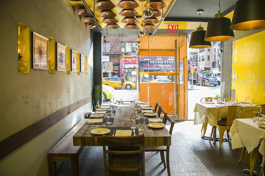 Haldi, in Curry Hill, Manhattan. (Samira Bouaou/Epoch Times)