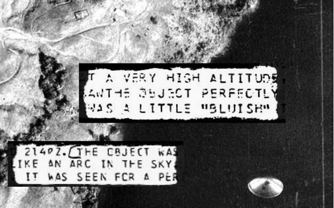 Excerpts from files declassified by the U.S. government. (NSA) Background: A file photo of an alleged unidentified flying object over Lake Cote, Costa Rica, Sept. 1971, not directly related to the U.S. government files. (Instituto Geografico Nacional de Costa Rica)