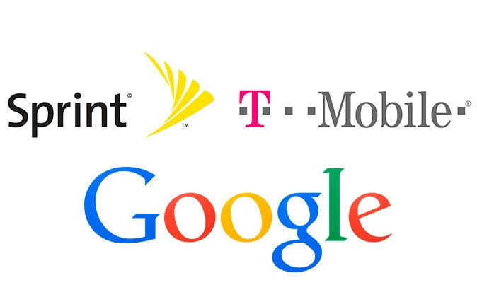 Google is reportedly partnering with T-Mobile and Sprint to sell its own phone plans.