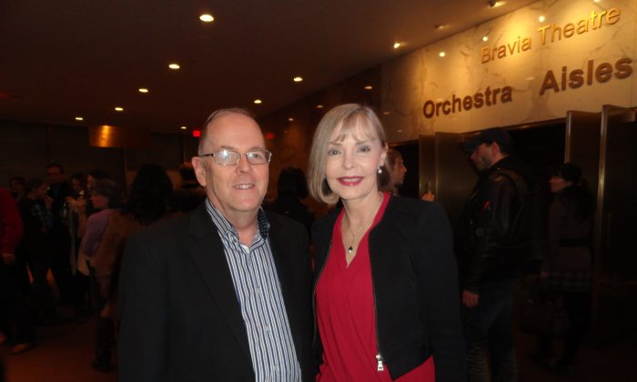Jayne Hobbs and Bob Simpson attended Shen Yun Performing Arts at the Sony Centre for the Performing Arts in Toronto on Jan. 22, 2015. (Madalina Hubert/Epoch Times)