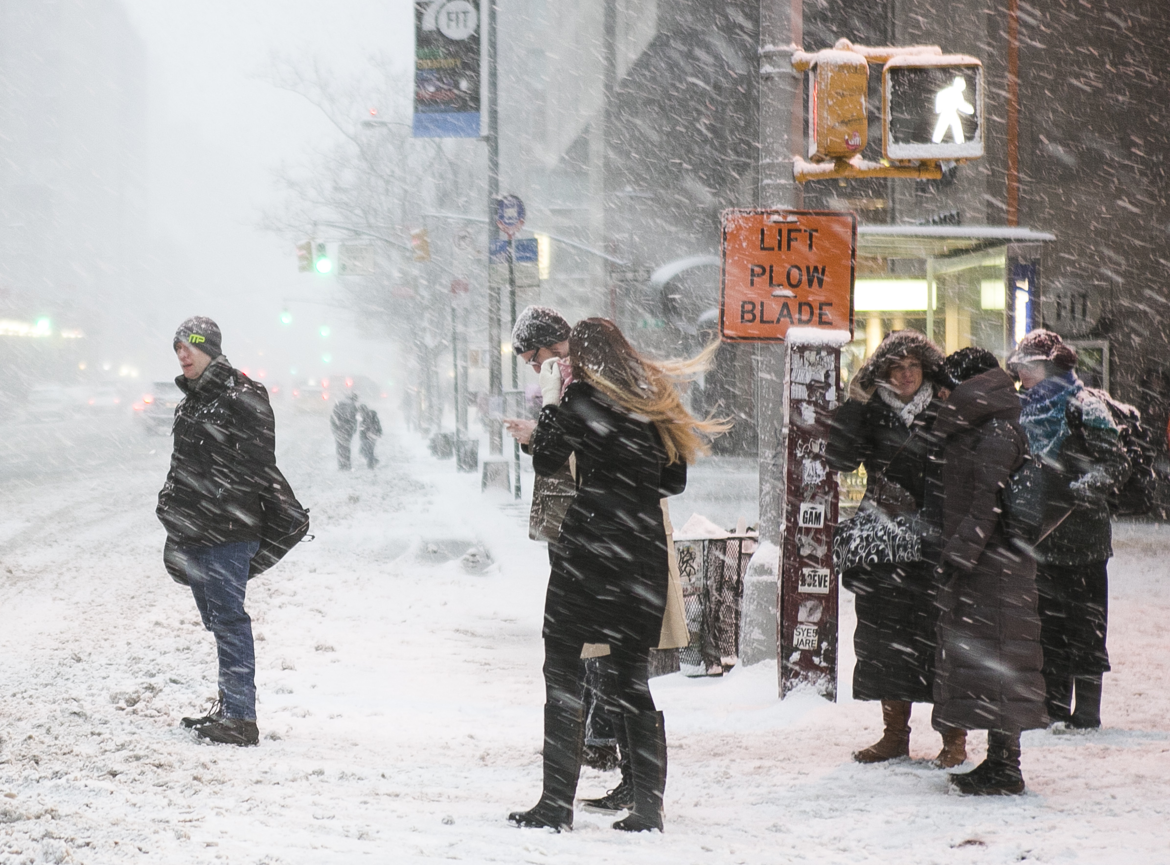 What New Yorkers Think About the Snow: 'I'm not an apocalyptic shopper'