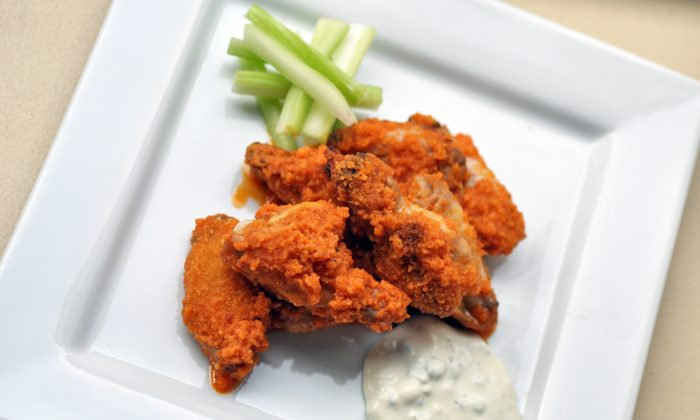 Chicken wings. (Courtesy of the Institute of Culinary Education)