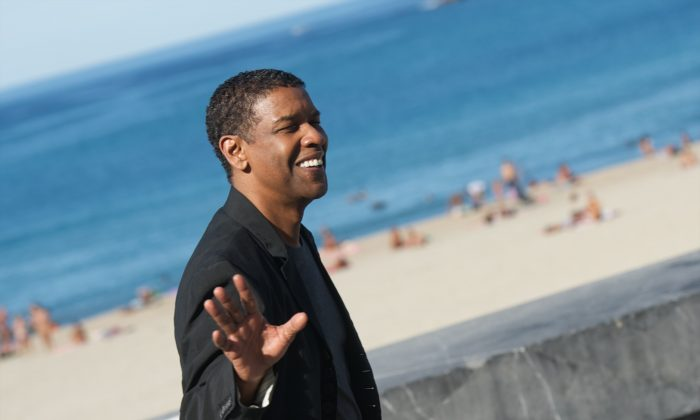 "Actor Denzel Washington  at the Kursaal Palace in San Sebastian, Spain, on September 19, 2014 . Washington may be showing interest in a guest appearance in the Fox hit TV show ""Empire.""  (Carlos Alvarez/Getty Images)"