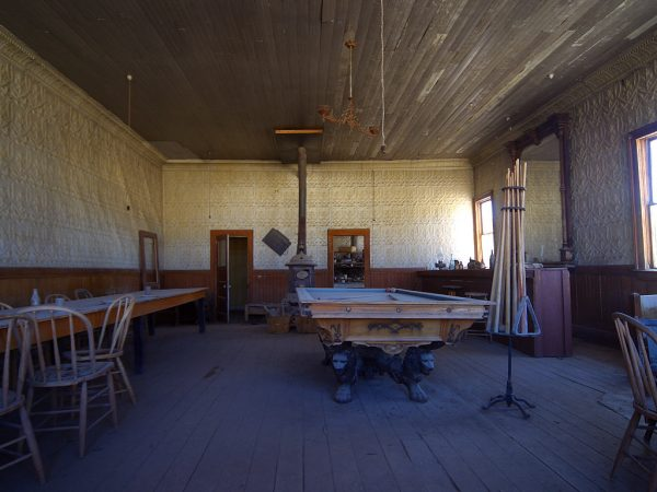 Interior of the saloon in Bodie, Calif. (Jon Sullivan/PDphoto.org/Wikimedia Commons)