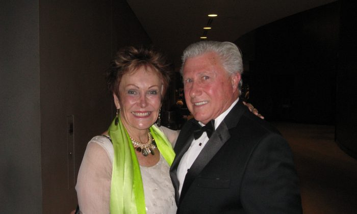 Brooke Walker and Donald Bongers enjoyed Shen Yun Performing Arts at Segerstrom Center for the Arts. on Jan. 31, 2015. (Albert Roman/Epoch Times)
