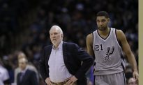 Spurs' Popovich on Trump's Election: 'That's Disgusting.'