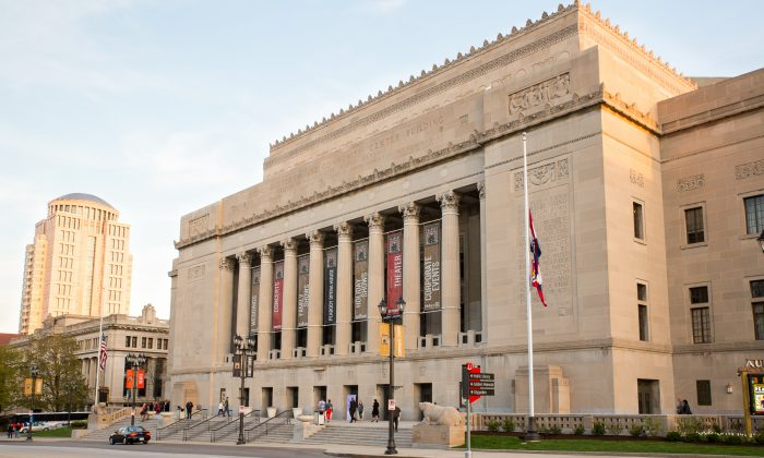The Peabody Opera House in St. Louis, Missouri. The Opera House was recently subject to demands by the Chinese consular officials from Chicago to cancel Shen Yun Performing Arts, scheduled to perform there from Feb. 20-22. (Hu Chen)