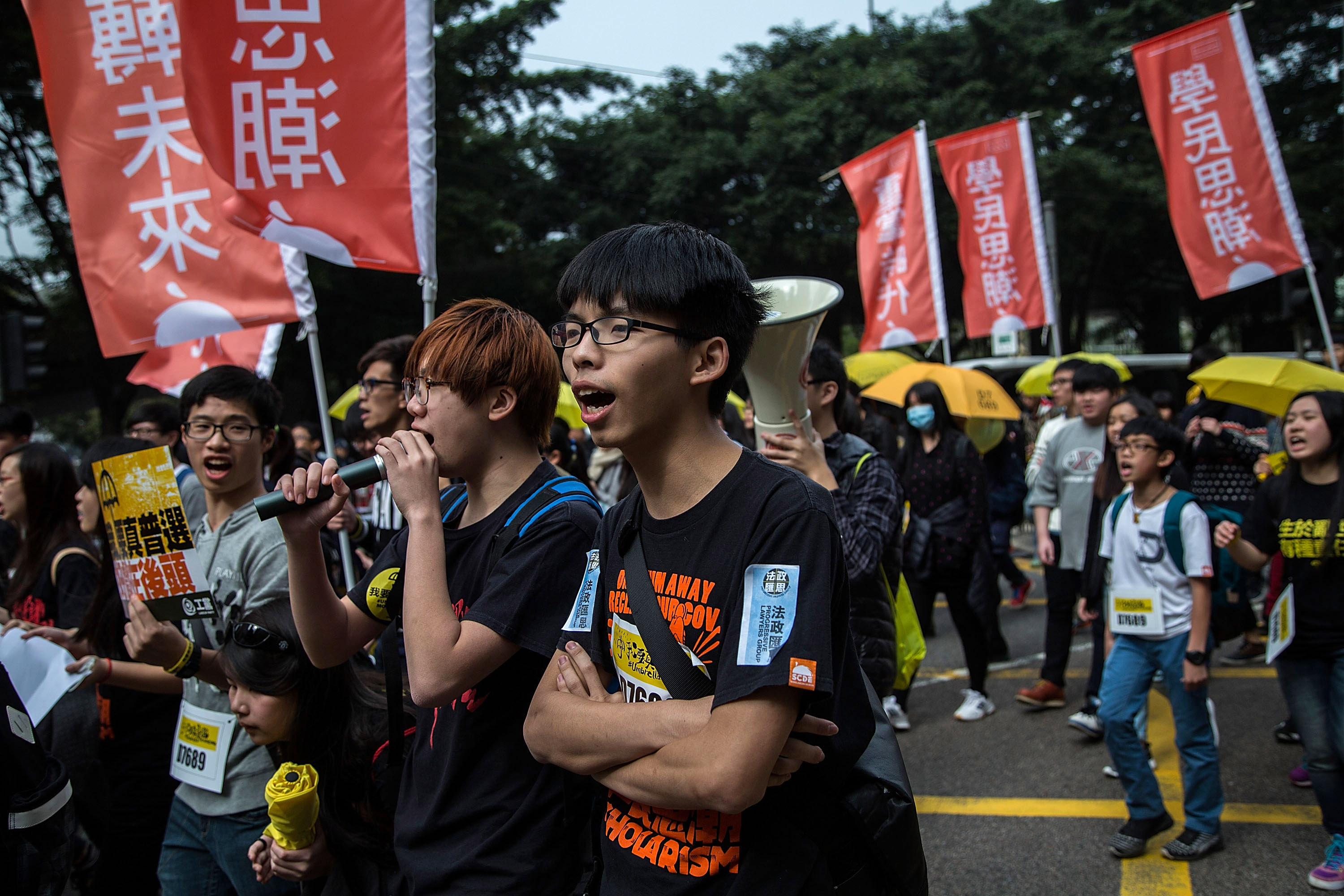 Joshua Wong Said to Give Talk in America