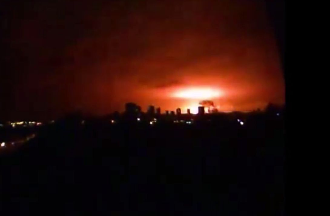 Ukraine: Artillery Fire, Not 'Tactical Nuke' Attack, Triggers Large Donetsk Explosion