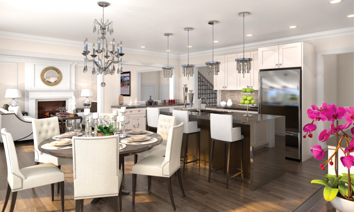 Kitchen at Minto Queen's Landing. (Minto Communities)