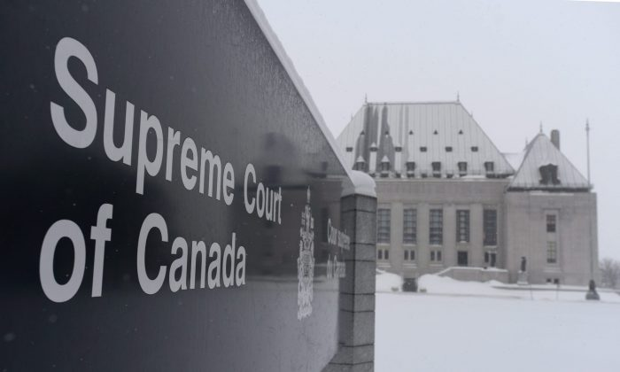 The Supreme Court of Canada ruled on Feb. 6, 2015, that mentally competent but suffering, terminally ill patients have a right to a medically assisted death. (The Canadian Press/Sean Kilpatrick)