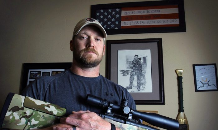 Chris Kyle, deadliest sniper in U.S. military history. Expect more SEAL sniper movies. (AP Photo/The Fort Worth Star-Telegram, Paul Moseley)