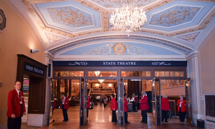 Cleveland's State Theater. (Epoch Times)