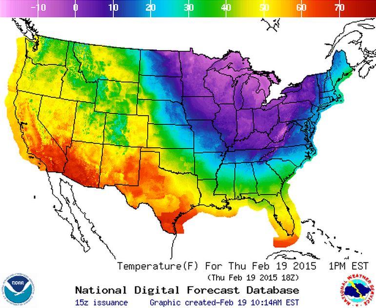 Half the US is Literally Frozen Right Now Polar vortex Winter