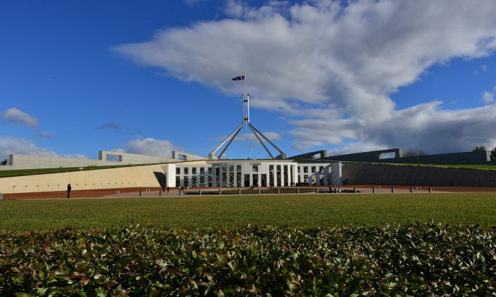 Parliament House, Canberra (Jan Zhao/Epoch Times)