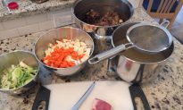 Welsh Lamb and Root Soup–a bone broth soup