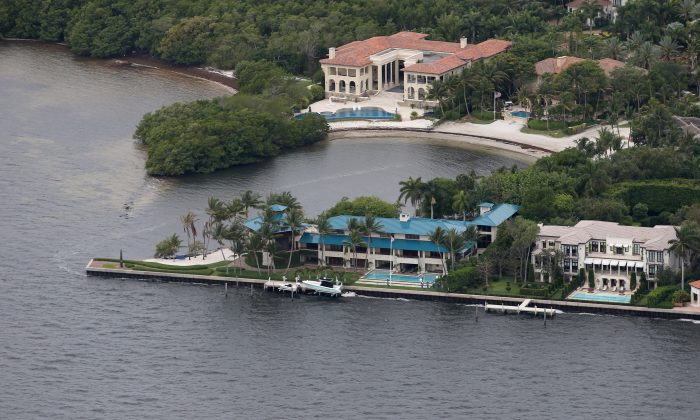 An expensive waterfront property is seen on June 3, 2014, in Miami, Florida. Corrupt Chinese officials are increasingly looking for luxury properties in the United States. (Joe Raedle/Getty Images)