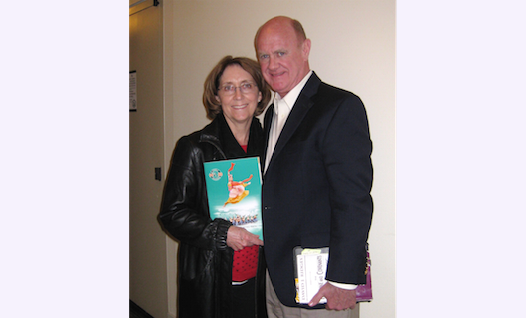 LuAnn Preston with husband, John, attend Shen Yun Performing Arts at California Center for the Arts in Escondido, Calif. on Feb. 24. (Sophia Fang/Epoch Times)