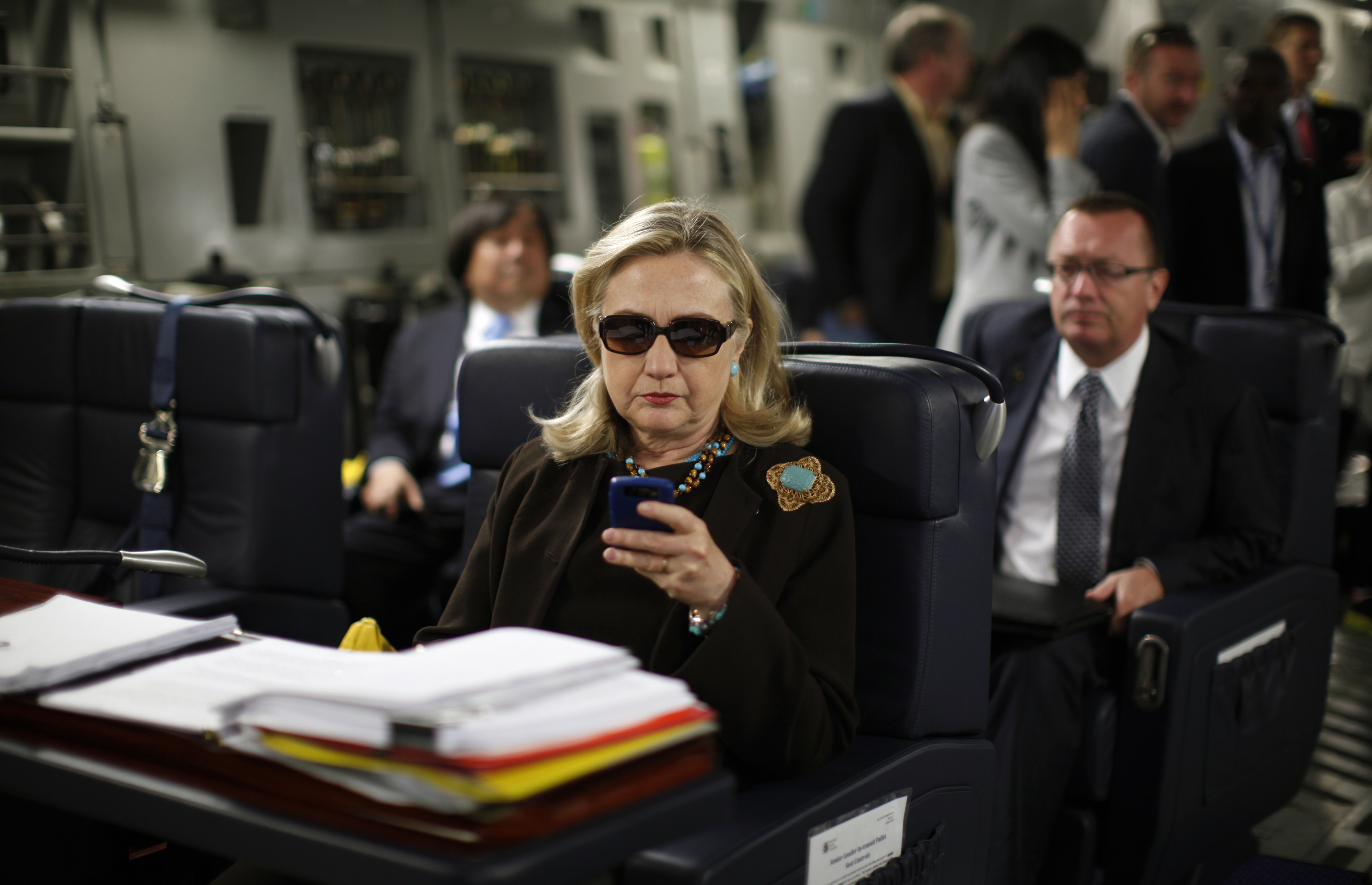 State Dept. Still Can't Find Crucial 'Separation Form' by Clinton
