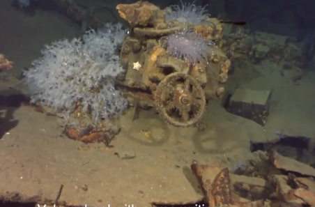 Long-Lost Ship Found? Microsoft Co-Founder Uncovers Wreckage (Video)