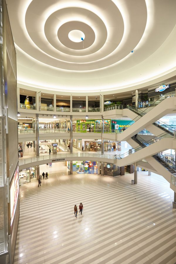 The Mall of America, typical of the closed mall pioneered in the 50s, in Bloomington, Minn. on Feb. 23, 2015. (Adam Bettcher/Getty Images)