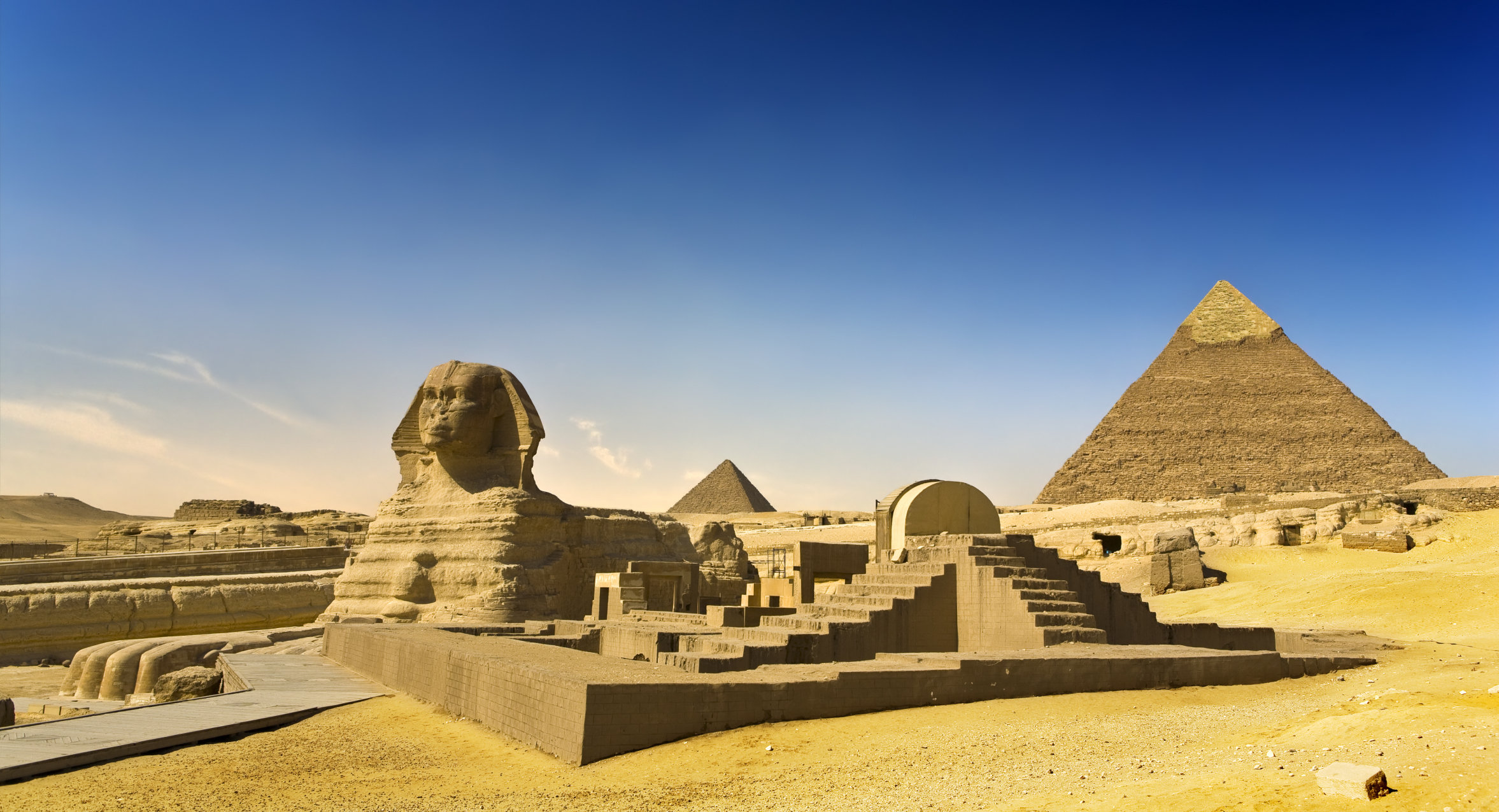 fossil suggests egyptian pyramids and sphinx once submerged under