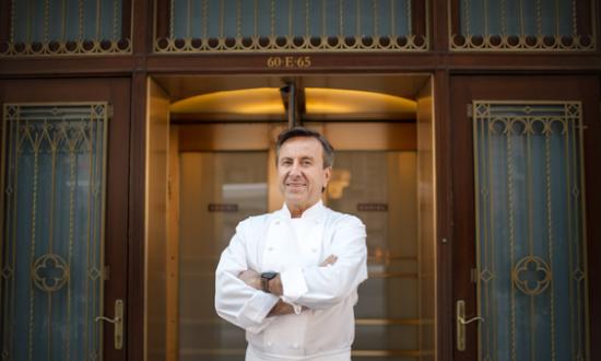 Chef Daniel Boulud: Running on Pilates