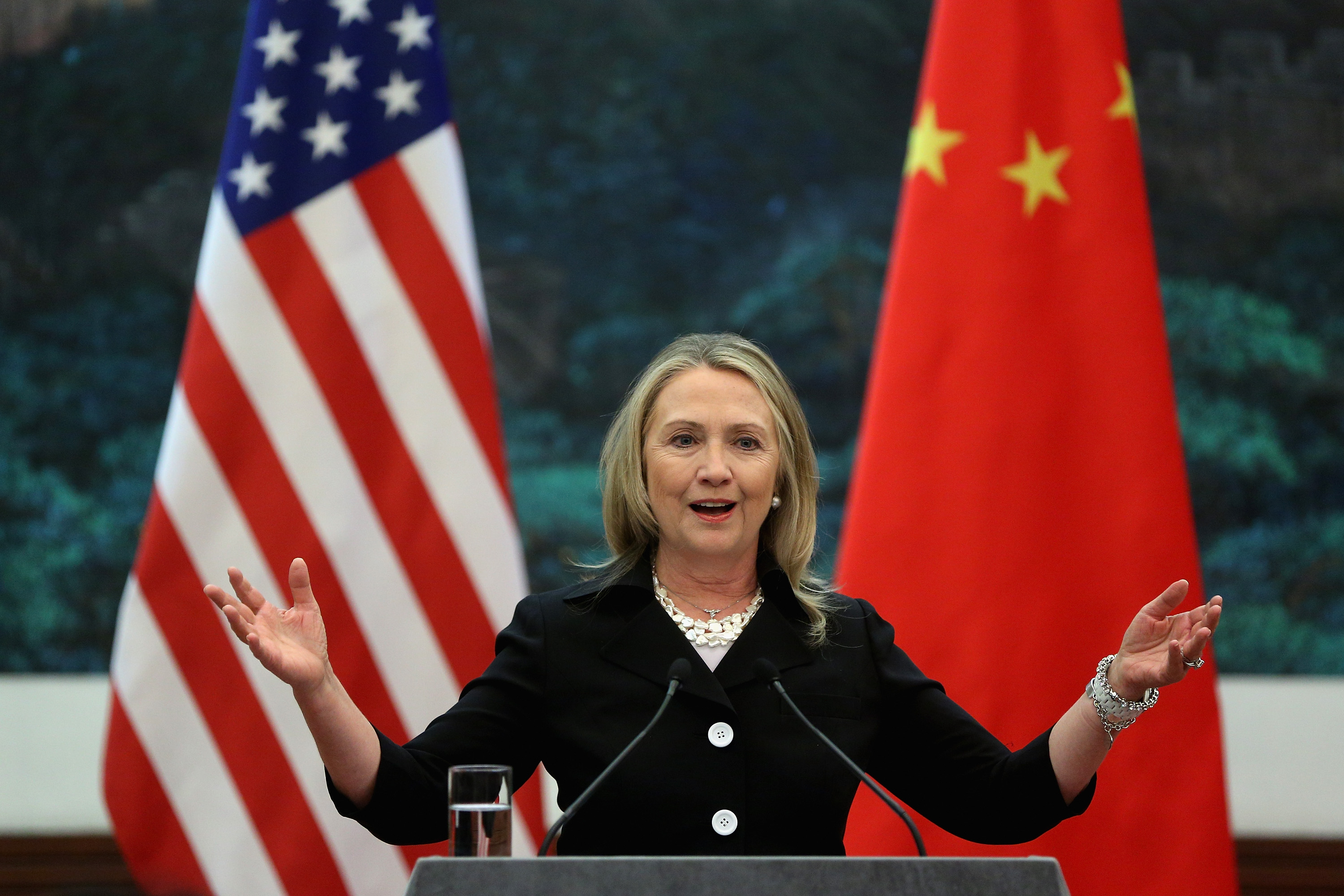 Clinton's Criticism of the Chinese Regime Highlights Their Odd Relationship