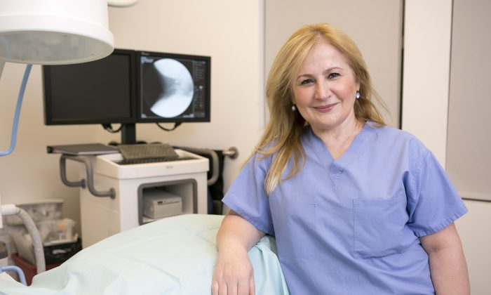 Dr. Elena Ocher in her Manhattan office on Feb. 18, 2015. (Samira Bouaou/Epoch Times)