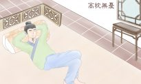 Chinese Idioms: Fluffing up the Pillows for Sleep With No Worries (高枕無憂)