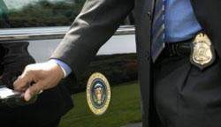 Secret Service agent. (Courtesy U.S. Secret Service)