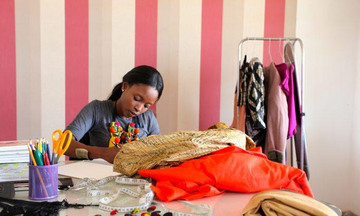 Aisha Obuobi of Christie Brown.  (ITC Ethical Fashion Initiative)
