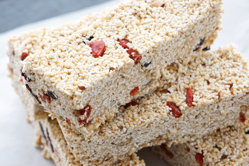 Popped amaranth can be used to make bars similar to rice crispy treats. (Shutterstock)