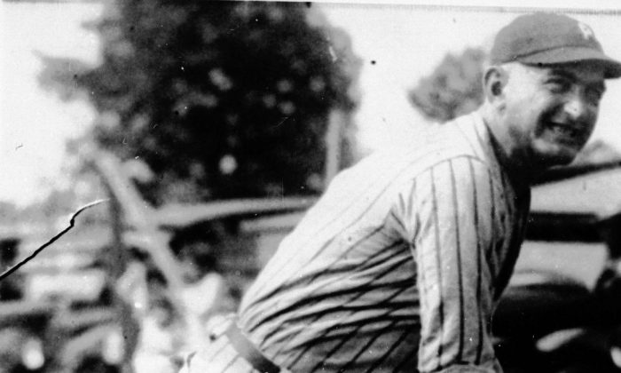 """Joseph """"Shoeless Joe"""" Jackson was one of the key figures in the infamous """"Black Sox"""" scandal, which rocked baseball and caused the introduction of a baseball commissioner. He ended his career with a lifetime batting average of .356 and was an exceptional outfielder. (AP photo)"""