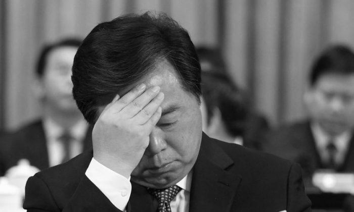 Ji Jianye, the former mayor Nanjing, was sentenced to 15 years in jail for corruption on April 7, 2015. (screen shot/chinanews.com)
